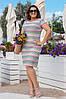 Гипюровое платье больших размеров 48-62, две расцветки, фото 2