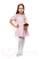 Комфортное повседневное детское платье