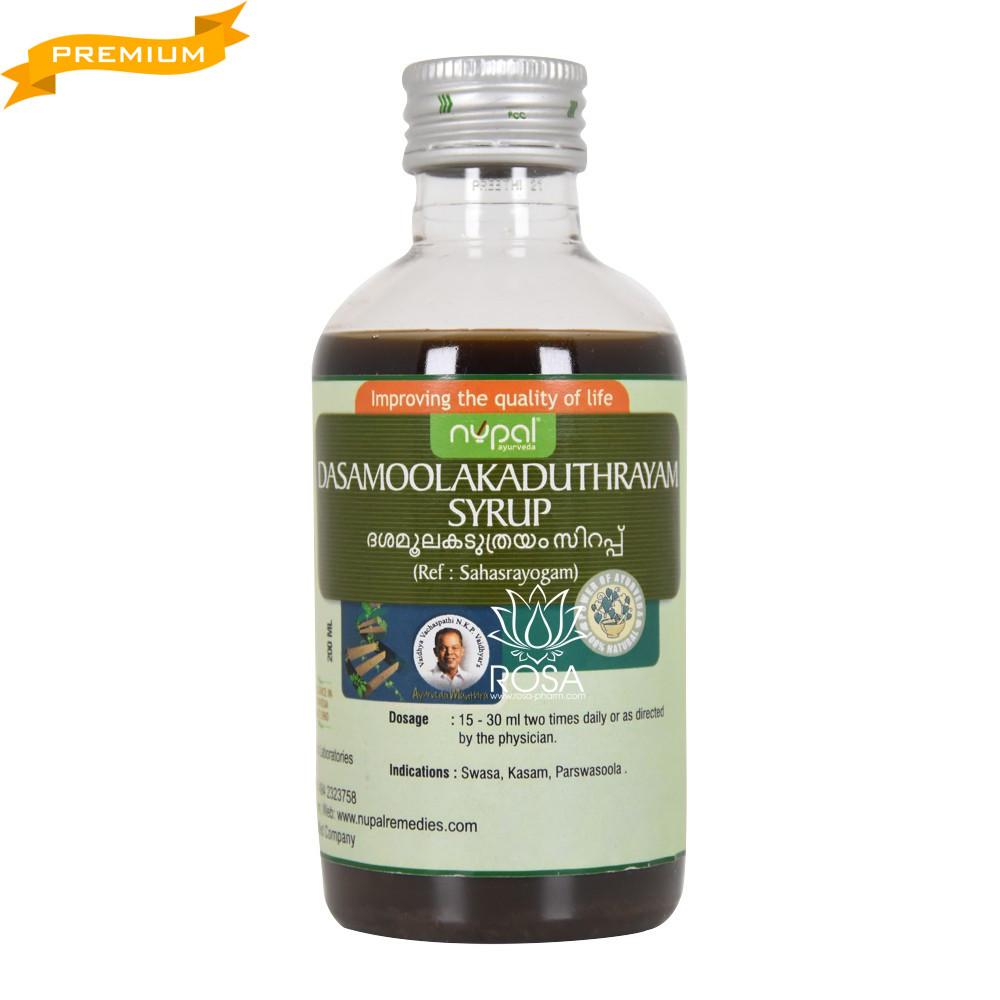 Дашамула Кадутрая сироп (Dasamoolakaduthrayam syrup, Nupal) 200 мл - Аюрведа преміум якості
