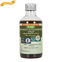 Дашамула Кадутрая сироп ((Dasamoolakaduthrayam syrup, Nupal) 200 мл - Аюрведа премиум качества
