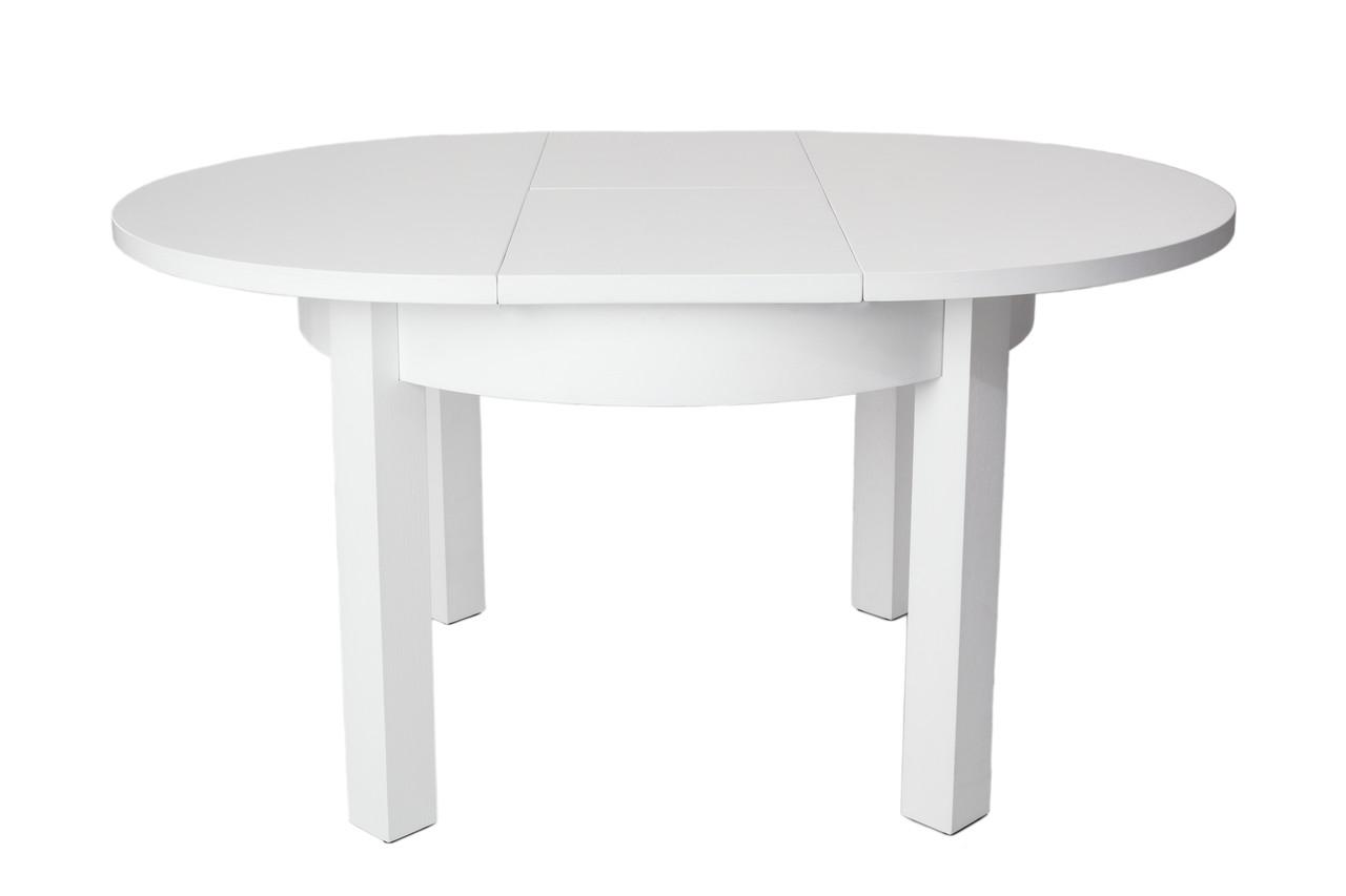 Стол обеденный деревянный круглый раздвижной 005