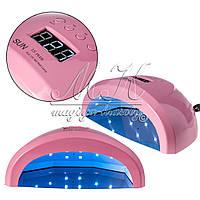 Лампа 2в1 UV/LED SUN 1S plus, 84W, розовая, фото 1
