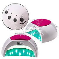 Лампа 2в1 UV/LED SUN 2C, 48W, с накладкой и белым дном, фото 1