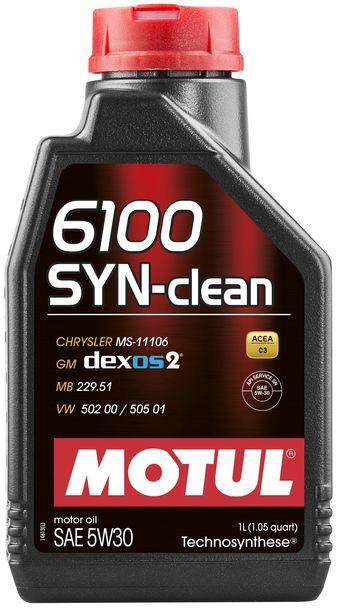 Масло моторное д/авто MOTUL SYN-CLEAN SAE 5W30 (1L)