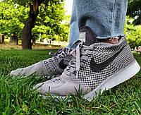 Кроссовки мужские в стиле Nike Flyknit Racer 2019 Grey (размеры в описании)
