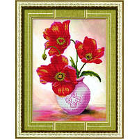 """""""Красные тюльпаны"""" Набор для рисования камнями"""