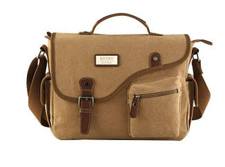 Сумка брезентова, сумка через плече MO&Y
