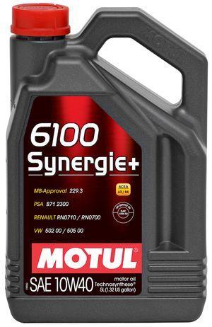 Масло моторное д/авто MOTUL SYNERGIE+ SAE 10W40 (5L)