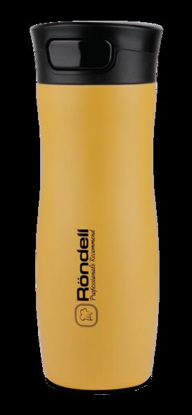 Термокружка RONDELL RDS-835 Sole (желтая) 0,4 л