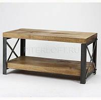 Кофейный Журнальный столик LuckyStar в стиле LOFT  (NS-970000002)