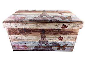 Пуфик Париж 2 прикроватный  с ящиком SH31433-456