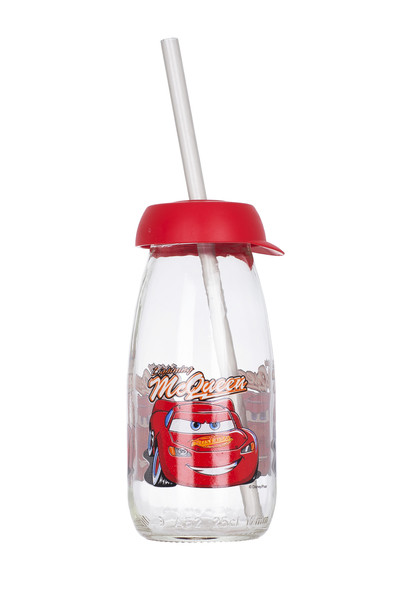Бутылка для воды детская HEREVIN DISNEY CARS 0.25 л стекло