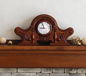 Часы деревянные Каминные 2/240 х470 х120