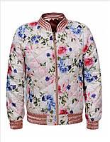 Демисезонная двусторонняя куртка для девочки. Размеры 146-152