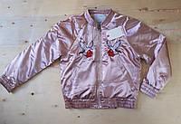Демисезонная  куртка для девочки. Размеры 122-128,134-140,146-152,158-164