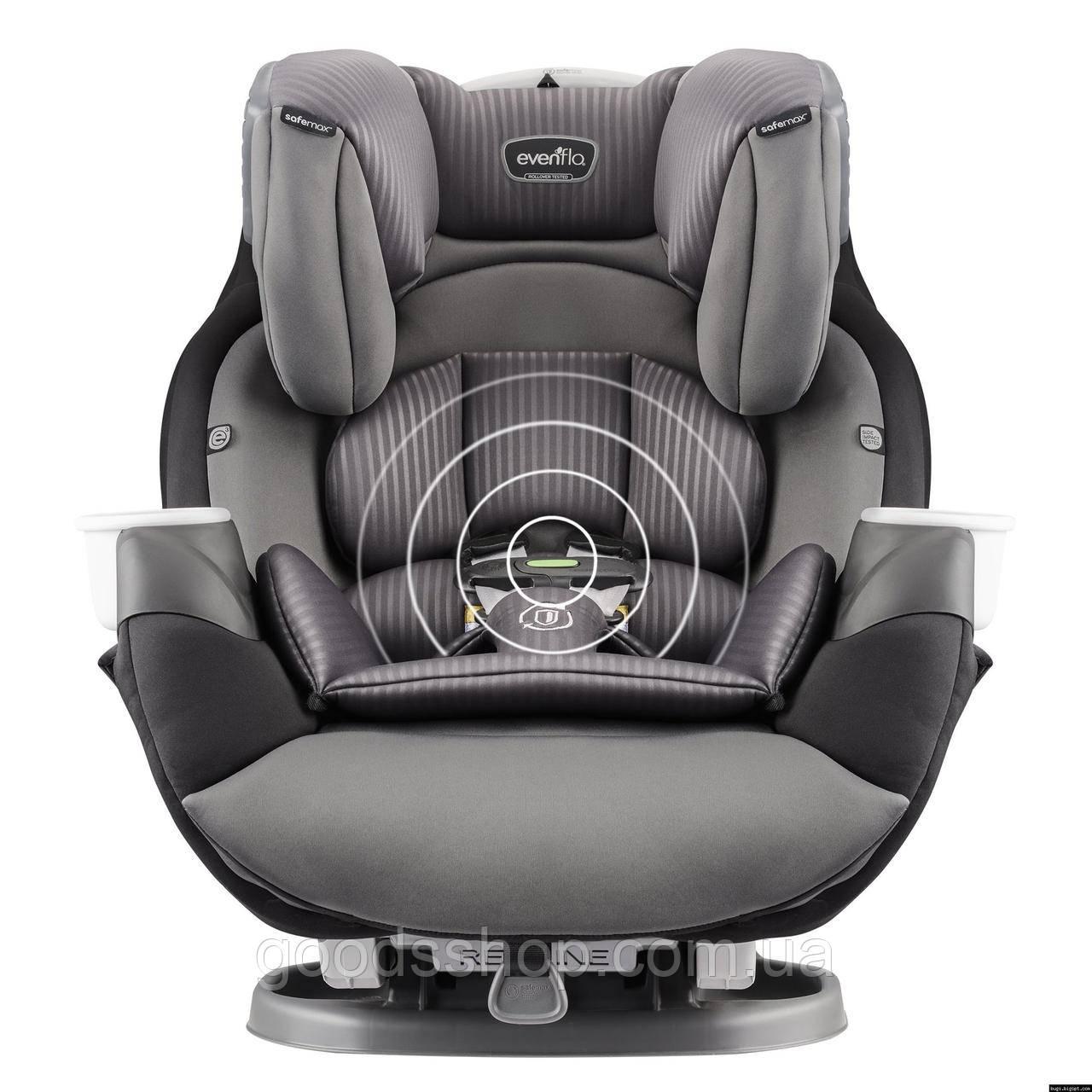 Evenflo® автокресло SafeMax Platinum - Industrial Edge (группа від 2,2 до 49,8 кг)