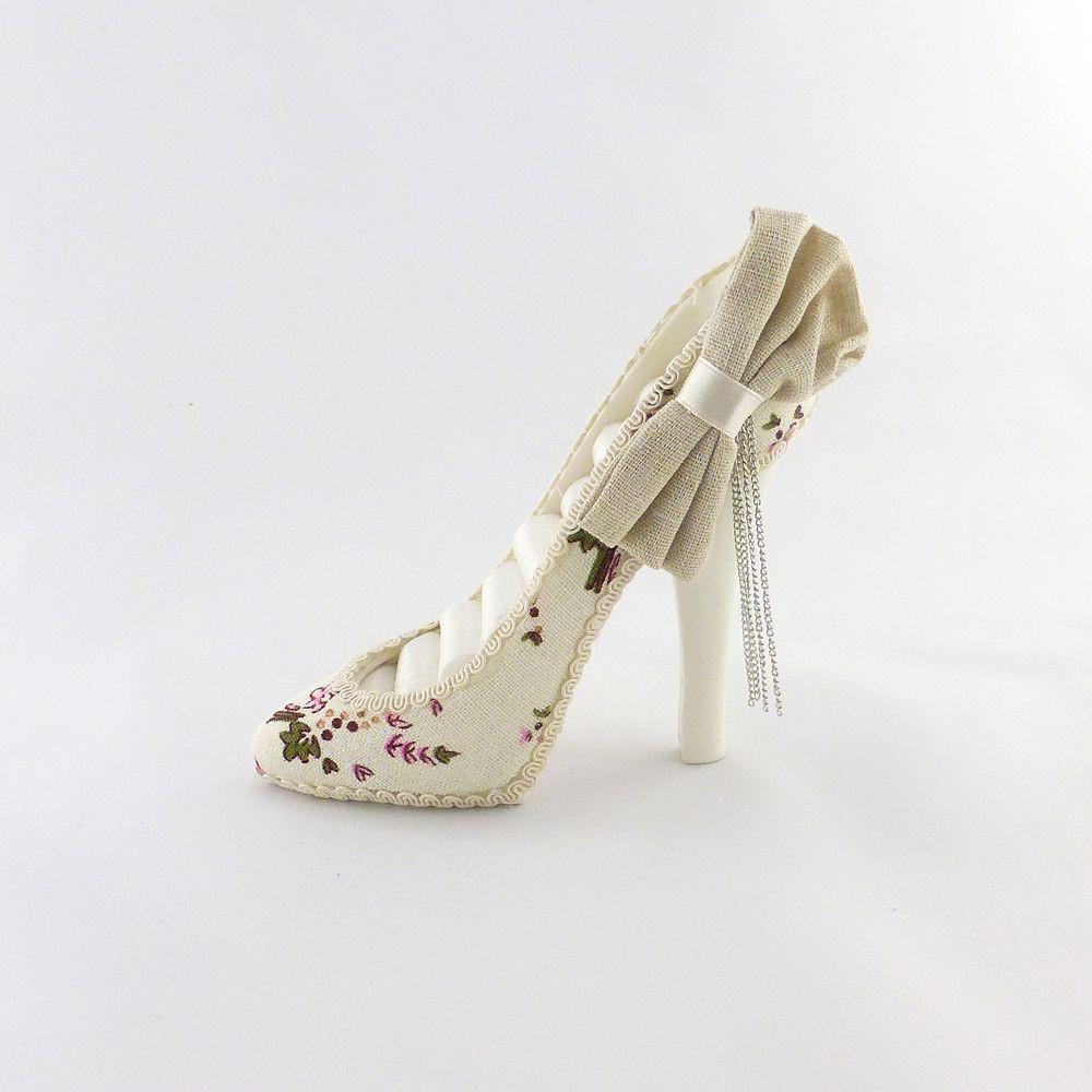 Подставка туфелька цветочная GM09-J9022A