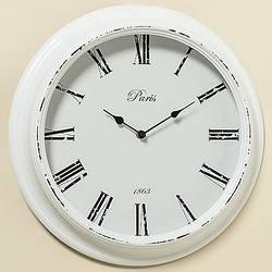 Настенные часы белый МДФ d39см 1003976