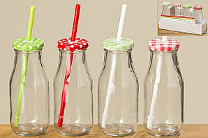 Набор бутылок для вечеринок стекло h16см 7025800
