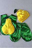 Детский карнавальный костюм Bonita Груша №1 105 - 120 см Желтый