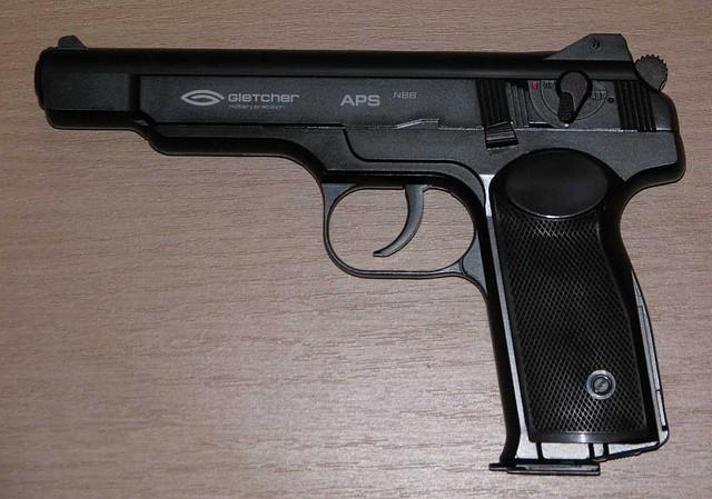 Пневматичний пістолет Gletcher APS NBB