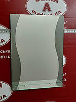 Зеркало в ванную комнату №80 /Дюбель 6х40 в Подарок