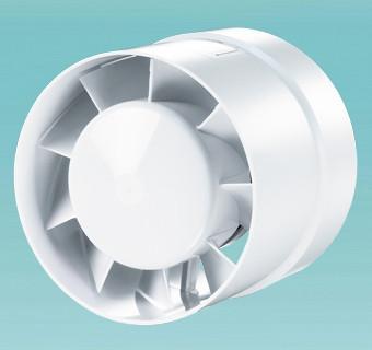 Побутовий канальний вентилятор Вентс 125 ВКО турбо