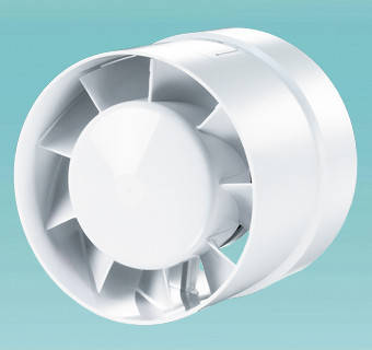 Побутовий канальний вентилятор Вентс 125 ВКО турбо, фото 2