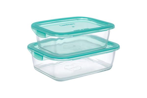 Набор контейнеров LUMINARC KEEP'N BOX, 2 шт. 0.82, 1.22 л