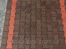 """Тротуарная плитка """"Катушка"""", цветной, 60 мм"""