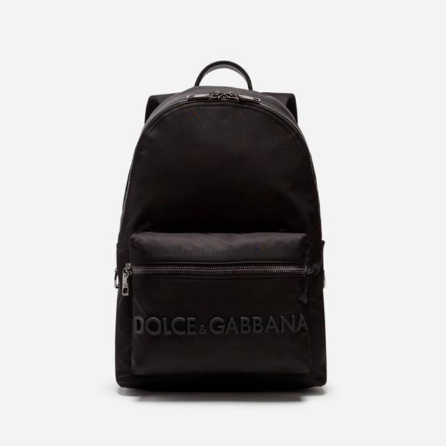 Нейлоновый мужской рюкзак Vulcano от Dolce&Gabbana