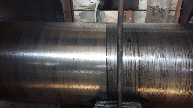 Нанесение праймера (грунтовки) термореактивной для трехслойного покрытия на основе экструдированого п/э