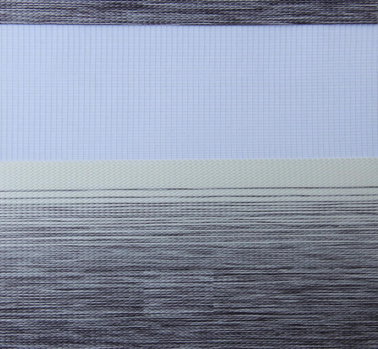 Готовые рулонные шторы Ткань ВМ-3105 Серый 1225*1300