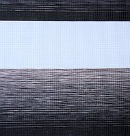 Готовые рулонные шторы Ткань ВМ-3106 Чёрный