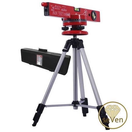 Уровень лазерный с подставкой и штативом INTERTOOL MT-3007, фото 2
