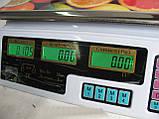 Весы электронные торговые OXI 40 кг, фото 4