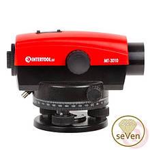 Оптичний нівелір 20-кратне збільшення INTERTOOL МТ-3010