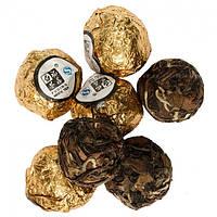 Лао Шоу Мэй белый чай спрессованный в шарики.  5-7 г. Возраст 7 лет