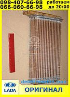 Радиатор отопителя МЕДНЫЙ на ВАЗ 2108 2109 21099 2113 2114 2115 Таврия 1102 1103 1105  2-х рядный Оренбург