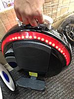 """Моноколесо 14""""  Segway one E+ с вспомогательными колесами, подсветкой. Моноцикл сигвей, гироскутер, гироборд. Черная, фото 1"""