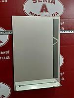 Зеркало в ванную с декором и полкой №59 /Дюбель 6х40 в Подарок