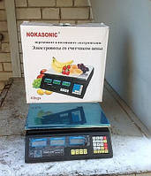 Весы торговые Nokasonic до 40кг, фото 1