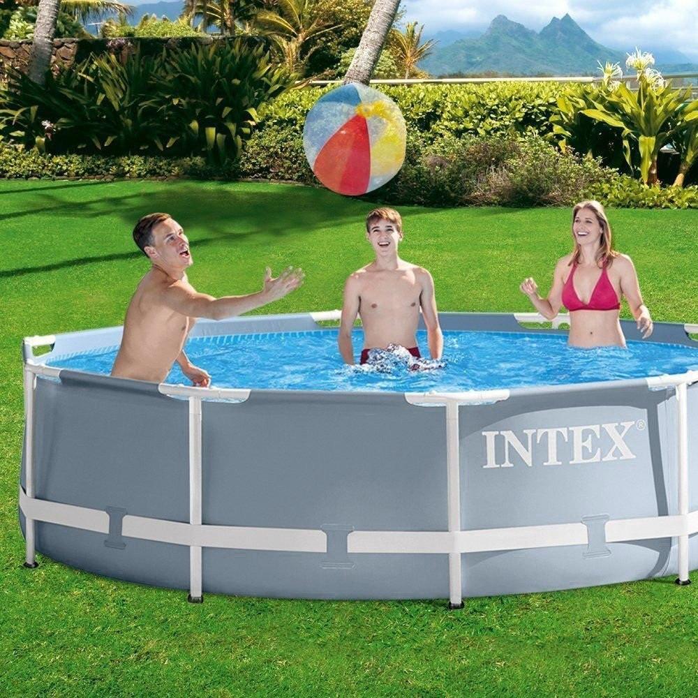 Каркасный бассейн Intex 26702 - 3 с картриджным насосом