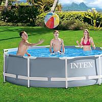 Каркасный бассейн Intex 26702 - 3 с картриджным насосом, фото 1