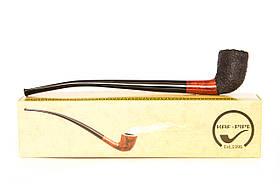 Курительная трубка ручной работы Churchwarden на длином мундштуке