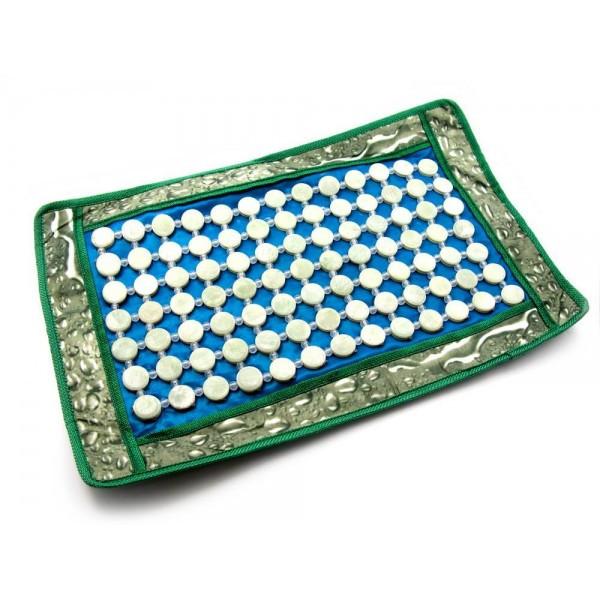 Массажный коврик с нефритовыми вставками
