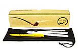 Трубка из серии Властелин Колец KAF218 Churchwarden Древо Гондора в Кольце Всевластия на длином мундштуке, фото 5