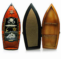 """Ключница """"Лодка"""" (39х12,5х8,5 см)(0035J-HM)"""