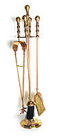 "Каминный набор бронзовый (69х13х13 см)(Fire Set Copper 24"")"