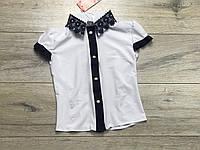 Шифоновая блузка для девочек. 122- 146 рост.